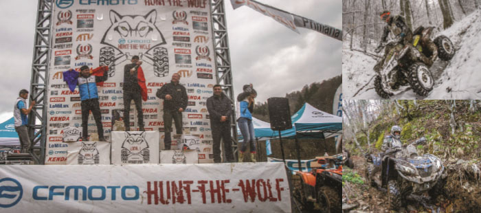 Elka Suspension wins the CFMOTO-HUNT-THE-WOLF 2017!