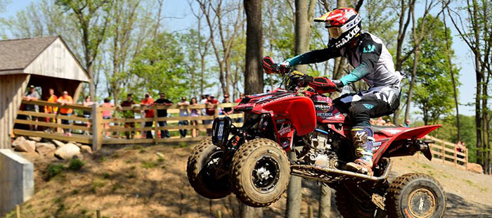 Joel Hetrick Takes the Win at the ATVMX Ironman National
