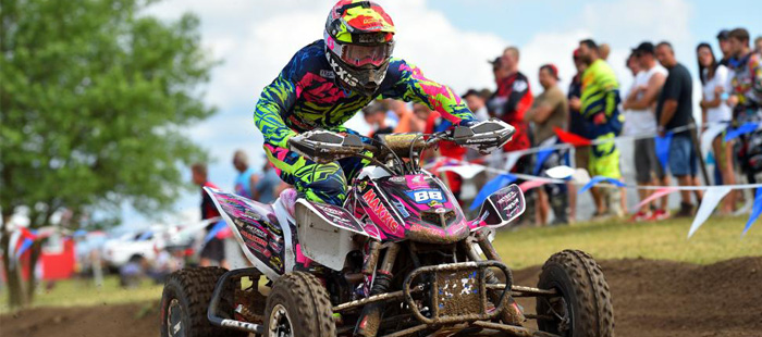 ATVMX Round 6 – 2nd Place Finish for Hetrick