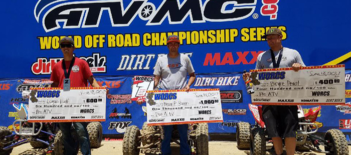 WORCS Round 9 Results – All Elka Pro ATV Podium And More!